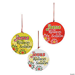 Jesus Is the Reason Christmas Ornaments