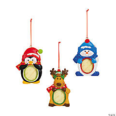 Character Photo Christmas Ornaments