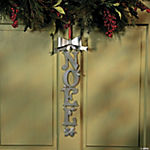 Metal Noel Door Hanger