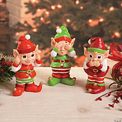 Hear No Evil, See No Evil, Speak No Evil Elves