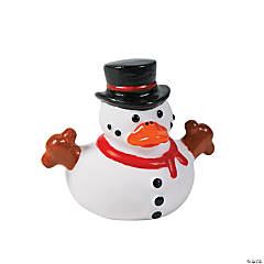 Snowman Rubber Duckies
