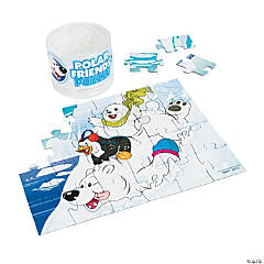 Polar Friends Puzzle