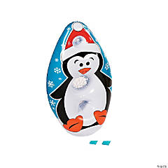 Inflatable Penguin Bean Bag Toss Game
