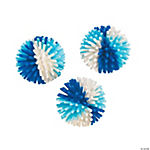 Winter Blues Porcupine Balls