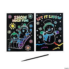 Magic Color Scratch Winter Fun Activities