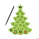 Scratch 'N Reveal Countdown Christmas Trees