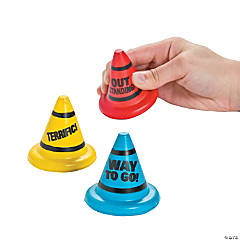 Motivational Cone Stress Toys