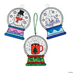 Snow Globe Suncatchers