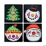 Christmas Sequin Art Activities