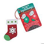 """The Legend of the Christmas Stocking"" Christmas Ornament Craft Kit"