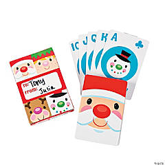 Cheery Christmas Playing Cards