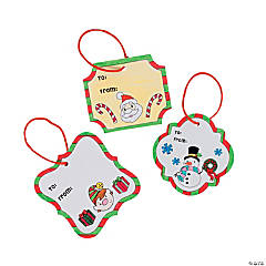 Color Your Own Gift Tags
