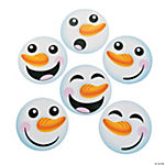 Snowman Face Bulletin Board Cutouts