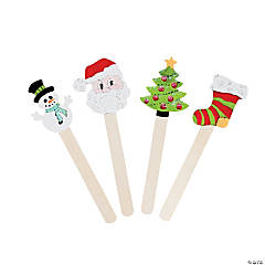 Holiday-Shaped Craft Sticks