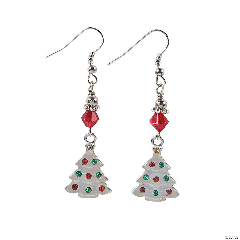 swarovski product resized tree crystal earrings christmas
