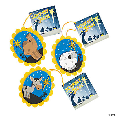 """Journey To Jesus"" Christmas Ornament Craft Kit"