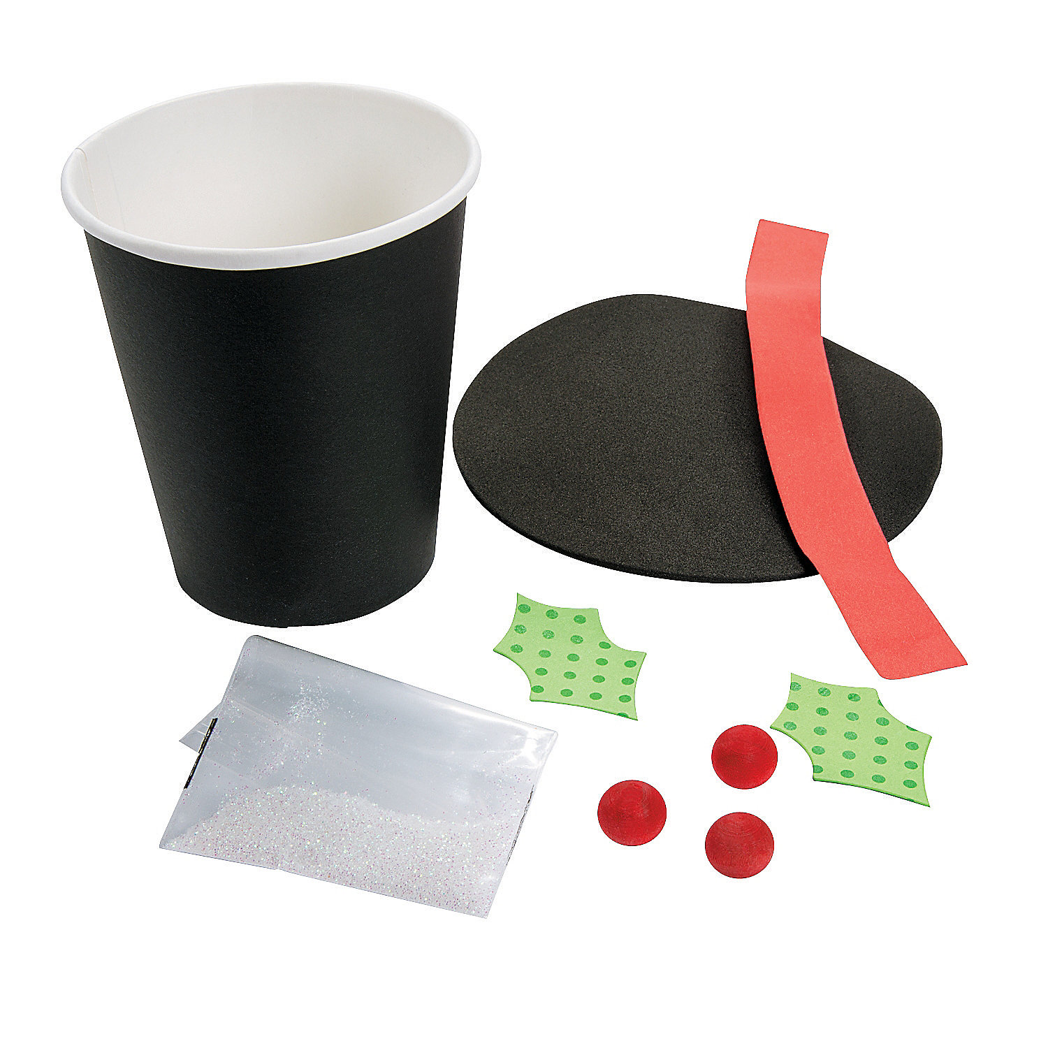 snowman hat container craft kit oriental trading