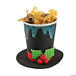 Snowman Hat Container Craft Kit