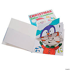 Christmas Mish Mash Drawing Books