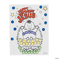 """Happy Birthday Jesus"" Dot Activity Sheets"
