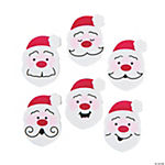Mini Christmas Santa Erasers