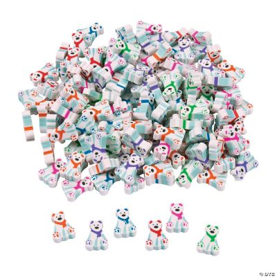 Mini Polar Bear Erasers