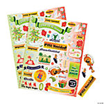 Spanish Christmas Phrases Sticker Sheets