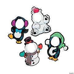 Winter Friends Character Magnets