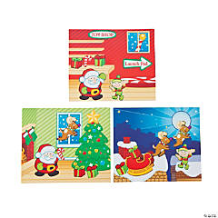 Mini Santa's Big Night Sticker Scenes