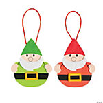 Gnome Christmas Ornament Craft Kit