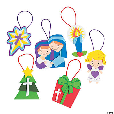 Religious Christmas Ornament Craft Kit