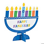 Thumbprint Stand-Up Menorah Craft Kit
