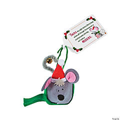 Jingle Bell Christmas Mouse Craft Kit