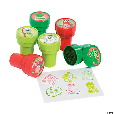 Christmas Monster Stampers