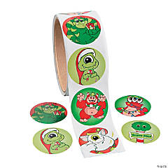 Christmas Monsters Stickers