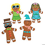 Silly Gingerbread Magnet Craft Kit