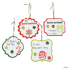 Christmas Tag Craft Kit
