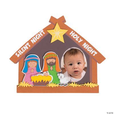Nativity Picture Frame Magnet Craft Kit
