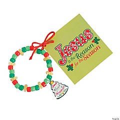 """Jesus Is the Reason"" Bracelet Craft Kit"