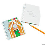 Gingerbread Spiral Notepads