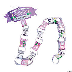 Advent Countdown Paper Chain Craft Kit