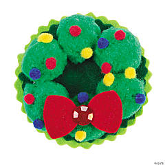 Pom-Pom Wreath Pin Craft Kit
