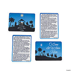 Nativity Wallet Cards
