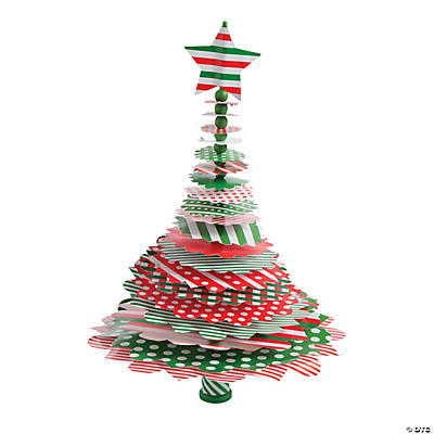 Layered Christmas Tree Paper Craft Kit