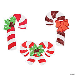 Candy Cane Magnet Craft Kit