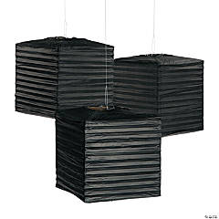 Black Square Lanterns