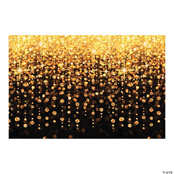 Plastic Celebration Lights Backdrop Banner