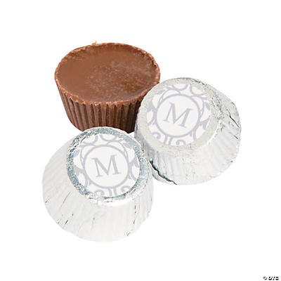 Personalized Monogram Peanut Butter Cups