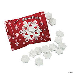 Red Snowflake Candy Fun Packs