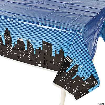 Superhero Tablecloth